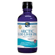 Torskelevertran med appelsin Cod liver oil - 237 ml - Nordic Naturals
