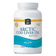 Torskelevertran med citrus Cod liver oil - 180 kap