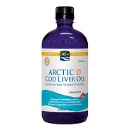Torskelevertran+D m.citrus Cod liver oil - 474 ml - Nordic Naturals
