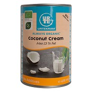 Coconut cream Økologisk - 400 ml - Urtekram