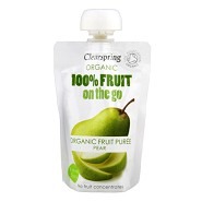 Pære fruit on the go Økologisk - 100 gram - Clearspring