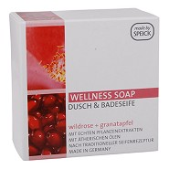 Wellness sæbe Rose, Granatæble - 200 gram - Speick