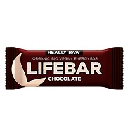 LifeBar Chocolate RAW Økologisk - 47 gram - LifeFood