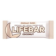 LifeBar Coconut RAW Økologisk - 47 gram - LifeFood