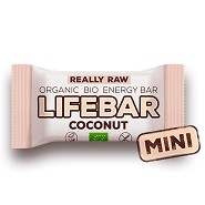 LifeBar Mini Coconut RAW Økologisk - 25 gram - LifeFood