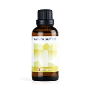 Cellesalt 6: Kalium sulf. D6 - 50 ml - Allergica