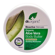 Body Butter, Aloe Vera  - 200 ml - Dr. Organic