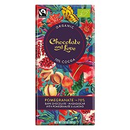 Chokolade Pomegranate 70% - 80 gram - Chocolate and Love