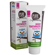 Berry toothpaste 0-3 år - 75 ml - Pure Beginnings