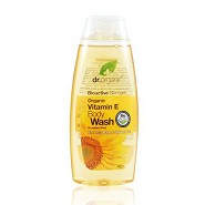 Body wash Vitamin E - 250 ml - Dr. Organic