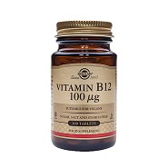 B12 Vitamin 100mcg - 100 tabletter - Solgar