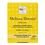 Melissa Dream - 60 tab - New Nordic