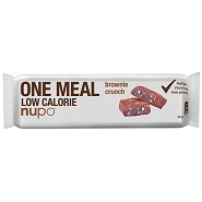 Meal bar brownie crunch - 60 gram - Nupo