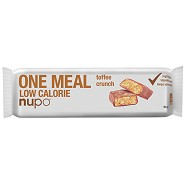 Meal bar toffee crunch - 60 gram - Nupo