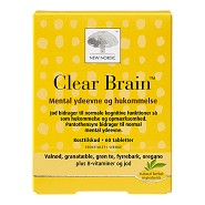 Clear Brain - 60 tab - New Nordic