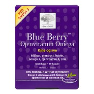 BlueBerry Omega 3 - 60 kap - New Nordic