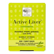 Active liver - 60 tab - New Nordic
