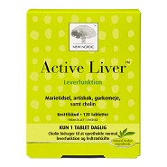 Active liver - 120 tabletter - New Nordic