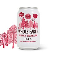 Cola i dåse Økologisk Whole Earth - 330 ml - DISCOUNT PRIS