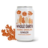 Ginger Soda i dåse ØkologiskWhole Earth - 330 ml