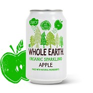 Apple soda i dåse Whole Earth Økologisk - 330 ml