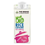 Risfløde veg. glutenfri Økologisk - 200 ml - The Bridge