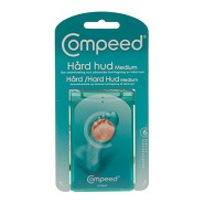 Hår hud plaster medium - 6 stk - Compeed