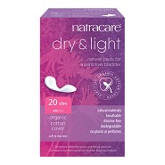 Dry & Light (inkontinens) - 20 stk - Natracare