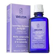 Body Oil Relaxing Lavender - 100 ml - Weleda