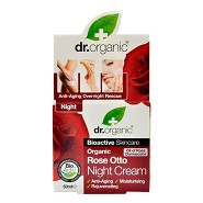 Night cream Rose Otto - 50 ml - Dr. Organic