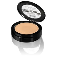 2 in 1 Compact foundation Honey 03  - 10 gram - Lavera Trend
