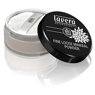 Fine loose powder Transparent - 8 gram - Lavera Trend