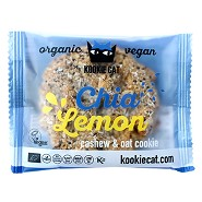 Chia lemon   Økologisk  - 50 gram - Kookie Cat
