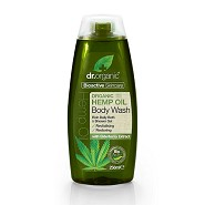 Body wash Hemp oil - 250 ml - Dr. Organic