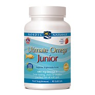 Ultimate Omega Junior - 90 kapsler - Nordic Naturals