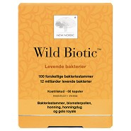 Wild Biotic - 60 kapsler - New Nordic