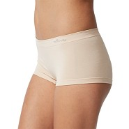 Trusser Shorts Beige - Small - Organic Bamboo Eco Wear