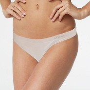 Trusser G-string Beige - Medium - Organic Bamboo Eco Wear