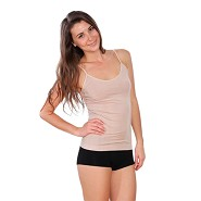 Top Cami Beige - Large - Organic Bamboo Eco Wear