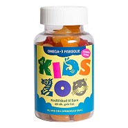 Kids Zoo Omega 3 - 60 tabletter - Kids Zoo