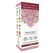 Hårfarve Henna Creme Red - 70 ml - Tints of Nature