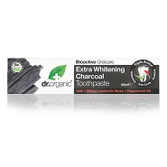 Tandpasta Extra Whitening Charcoal - 100 ml - Dr. Organic