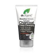 Face Scrub Charcoal Deep Cleansing - 125 ml - Dr. Organic