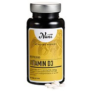 Vitamin D3 vegetabilsk - 90 tabletter - Nani
