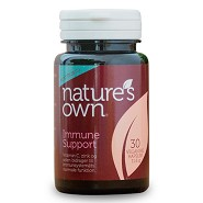 Immune Support med betaglucan - 30 kapsler - Natures Own