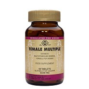 Female Multiple multivitamin til kvinder - 60 tabletter - Solgar