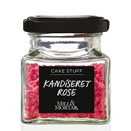 Kandiseret Rose - 40 gram - Mill &  Mortar