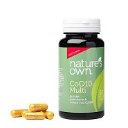 CoQ10 Multi Whole Food - 60 kapsler - Natures Own