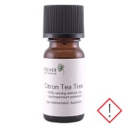 Citron Tea Treeolie æterisk - 5 ml - Fischer Pure Nature