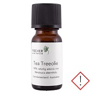 Tea Treeolie æterisk - 10 ml - Fischer Pure Nature
